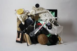 random stuff in a pile